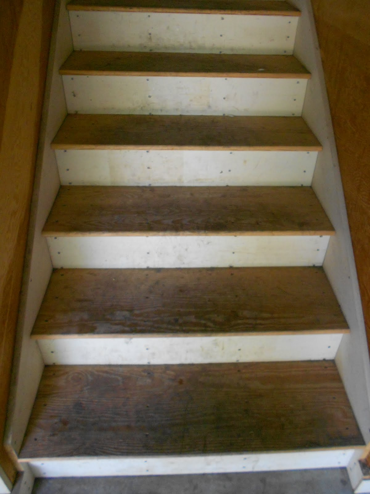Painted Wood Stairs Mudroom Makeover Painted Stairs Shine Your Light