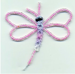 CROCHET DRAGONFLY PATTERN | Vector Patterns