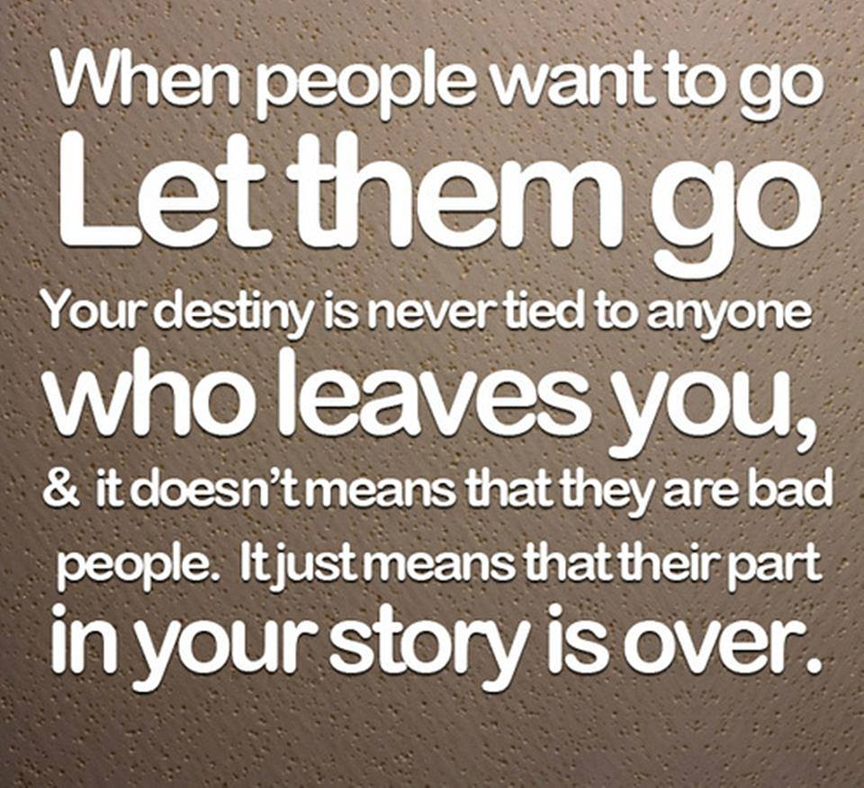 want to let it go this: