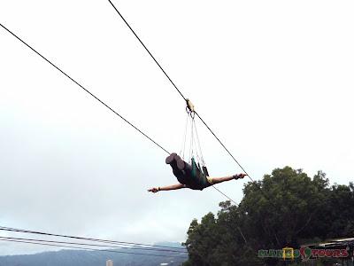 Mango Tours Tagaytay zip line