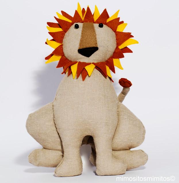 Domador leones lions muñeco hecho a mano circo handmade circus carnival craft leon