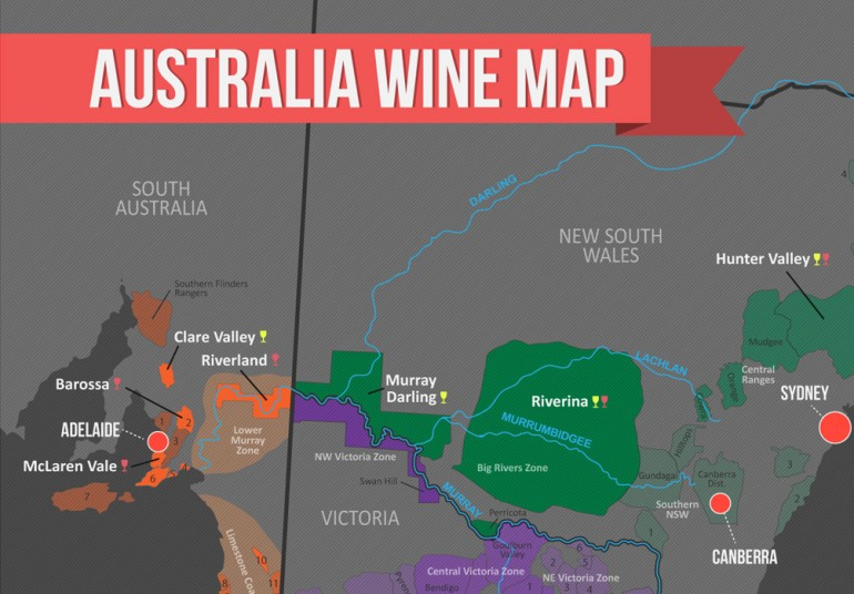 Aussietalks Four Best Wine Regions To Visit Australia