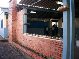 Nossa escola ecologicamente decorada