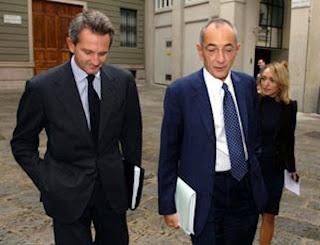 Alberto Nagel e Renato Pagliaro