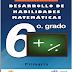 Cuadernillo de actividades de matemáticas para Sexto Grado