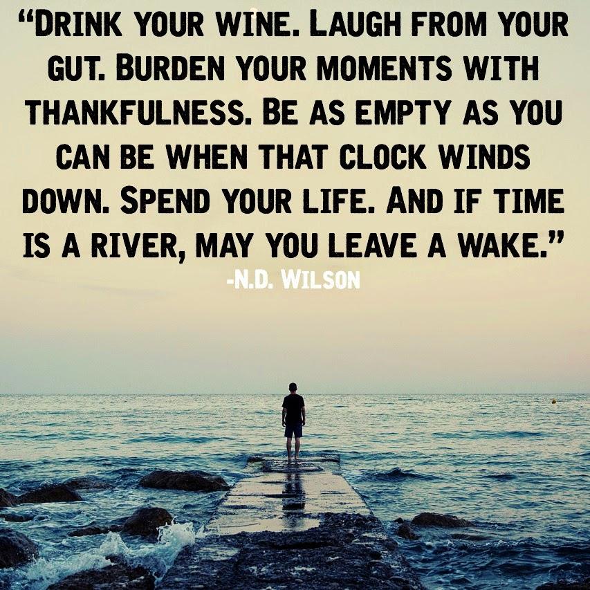 N.D. Wilson quote