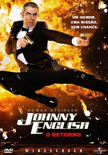 Filme Poster O Retorno de Johnny English R5 XviD Dual Audio & RMVB Dublado