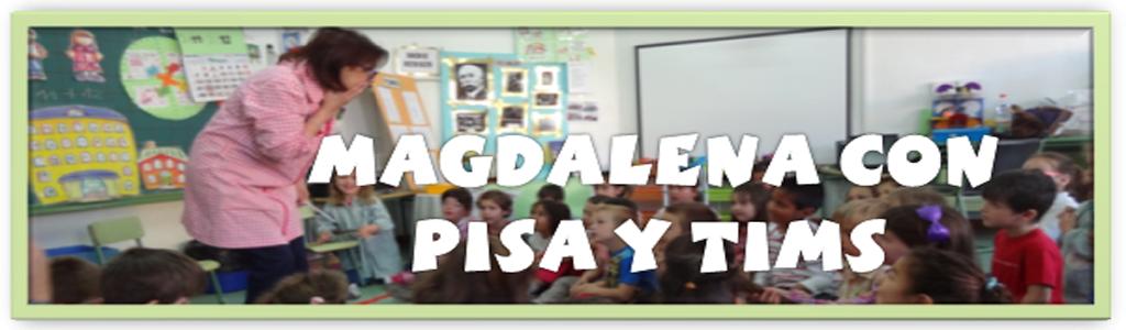 Magdalena con PISA y TIMS