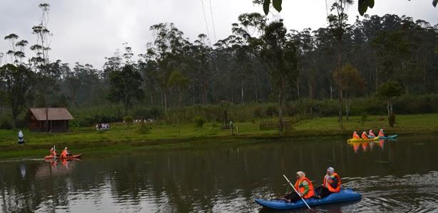 Kampung Cai Rancaupas Danau