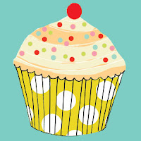 cupcake yellow greeting cards stationery designers Liz and Pip Ltd