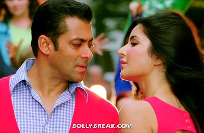 Katrina Kaif in Red Dress Ek Tha Tiger - Katrina Kaif Ek Tha Tiger Stills 2012