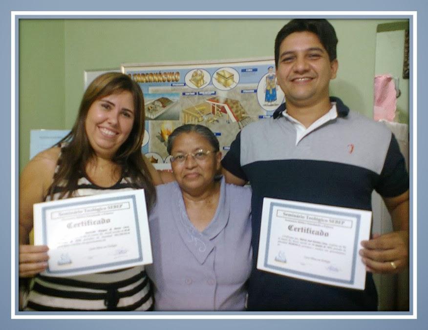 FEVEREIRO DE 2014 - ENTREGA DO CERTIFICADO