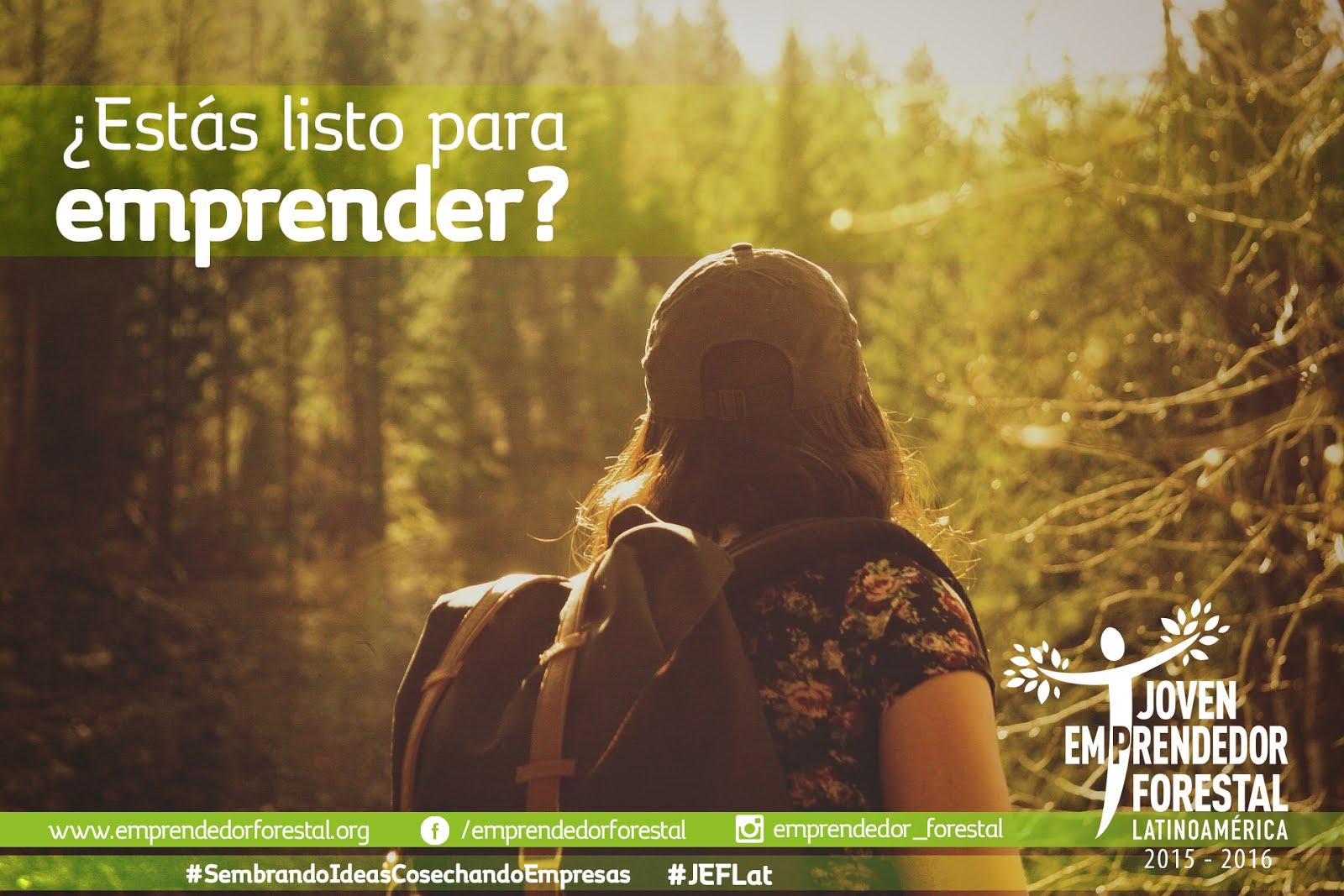 Convocatoria Joven Emprendedor Forestal Latinoamérica