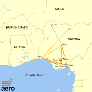 AeroContractors Route Network