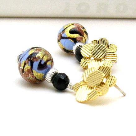 Murano Glass Post Earrings
