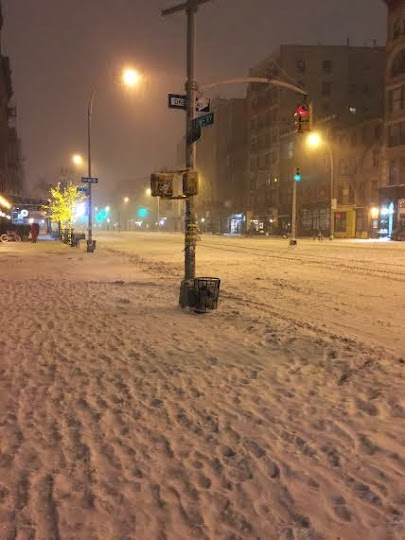 Last nights empty East Village streets NYC Real Estate News image via Tigho