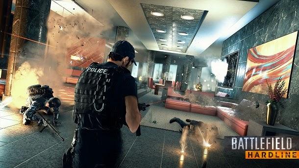 Veja como será o novo Battlefield: Hardline