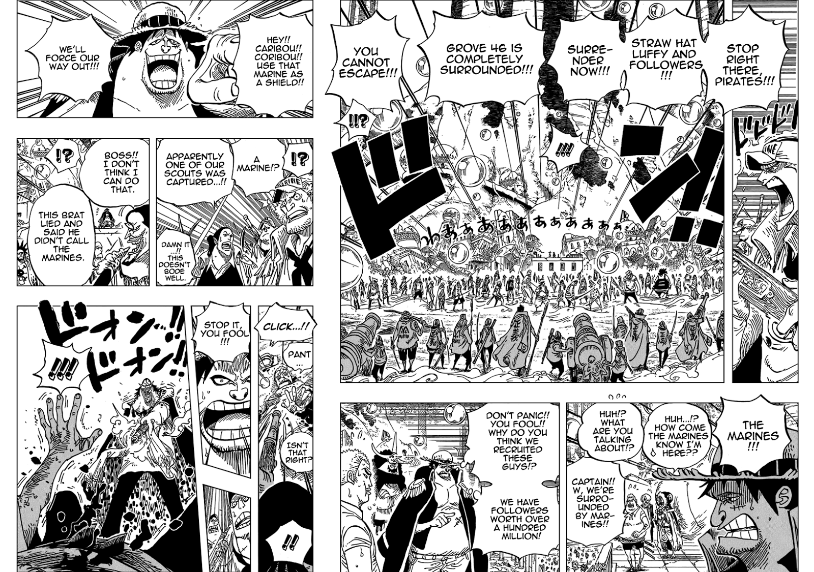 04 05, One Piece chapter 601 english   NarutoSub