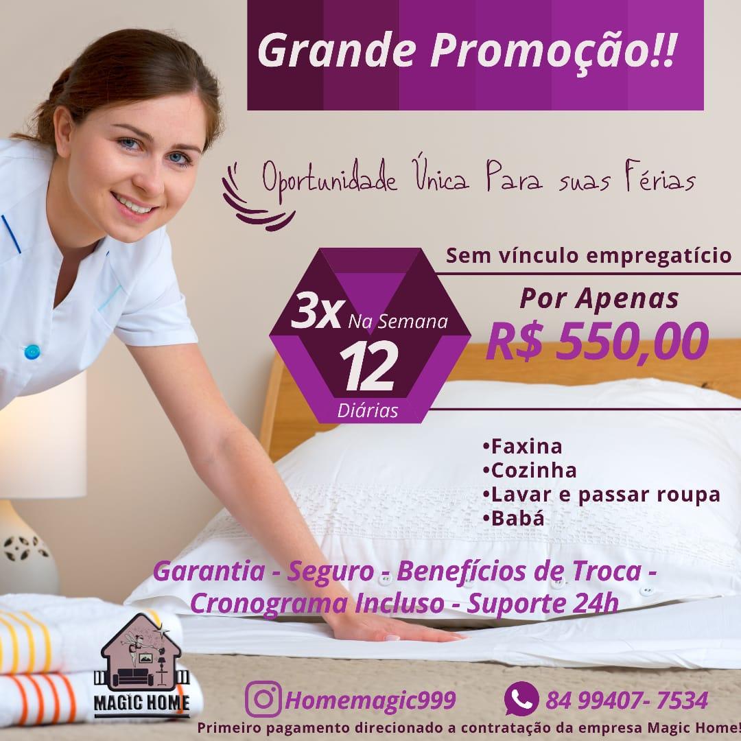 HOME MAGIC PRESTADORA DE SERVIÇOS
