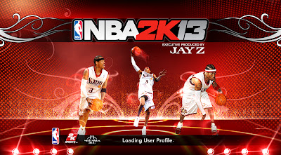 NBA 2K13 Allen Iverson Cover Screen Mod