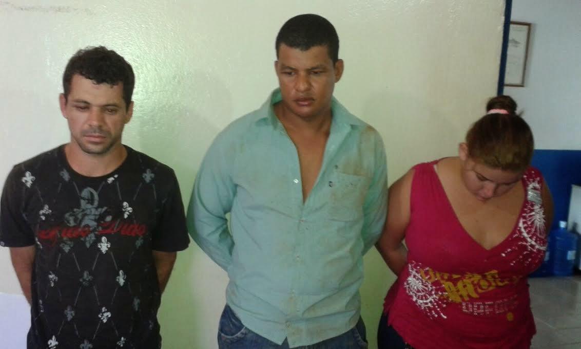 PM prende suspeitos de terem praticado vários assaltos em Água Boa e Canarana