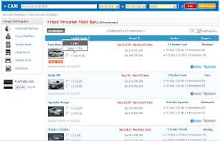 Cara Praktis Mencari Mobil Baru di CarMall.com