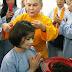 Hoa hậu Bích Liên xuống tóc quy y tại Việt nam