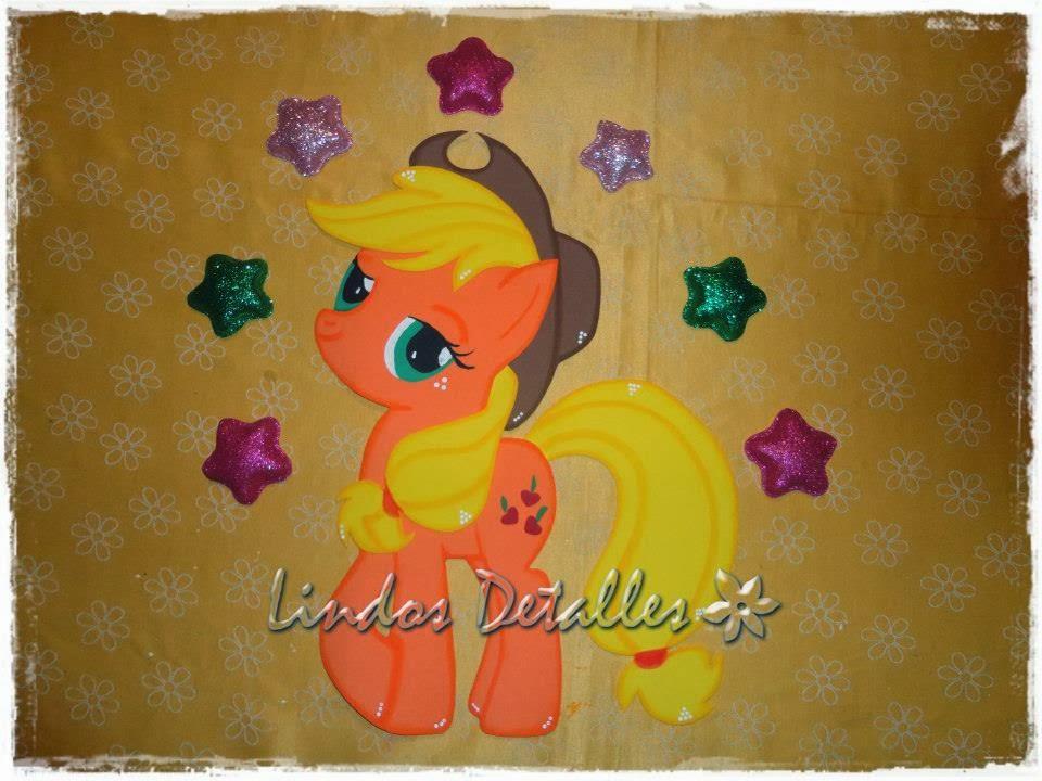 Sorpresas de My Little Pony en foamy - Imagui