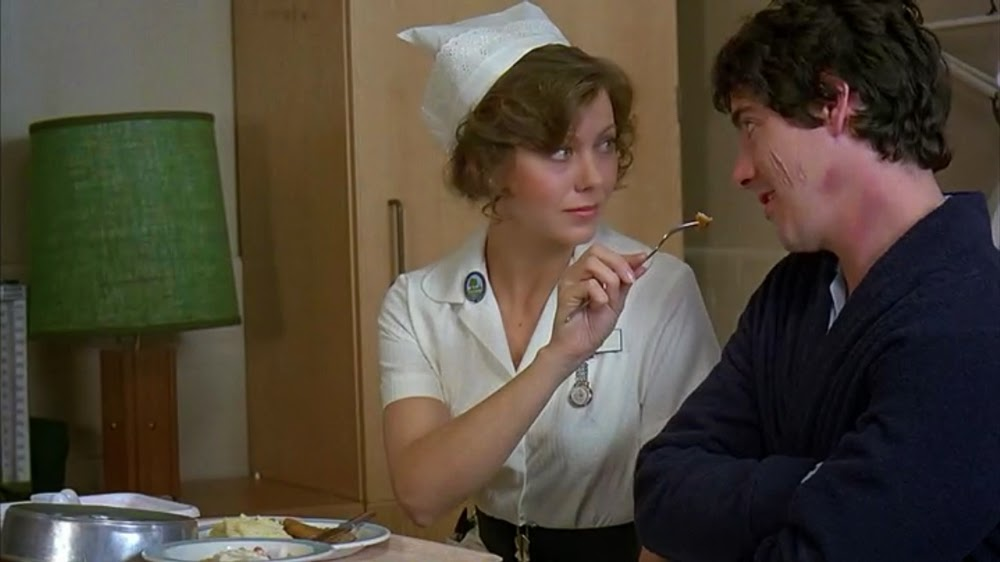 Jenny Agutter and David Naughton in An American Werewolf in London
