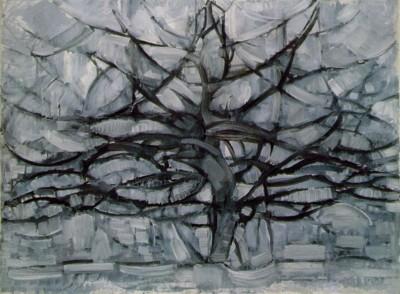 Fabuleux debat art figuration: La transparence des arbres (l'arbre solitaire) RH32