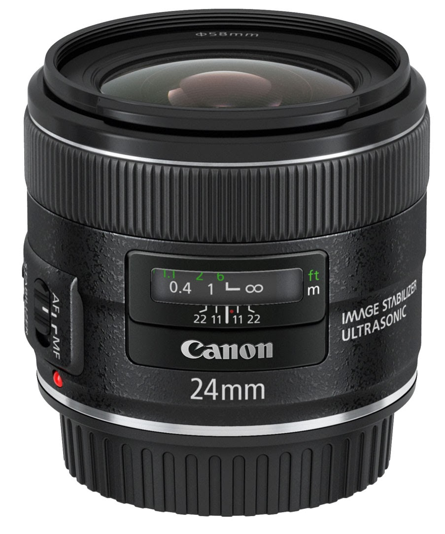 Lensa Canon EF 24mm f/2.8 IS USM Harga Spesifikasi Terbaru
