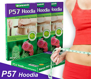 P57 Hoodia Slimming Capsule Pelangsing Pembakar Lemak