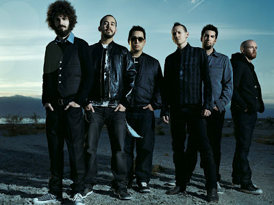 Linkin Park Members Dark Blue Sky HD Wallpaper