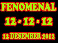 12-12-12 � Tanggal 12 Bulan 12 Tahun 2012