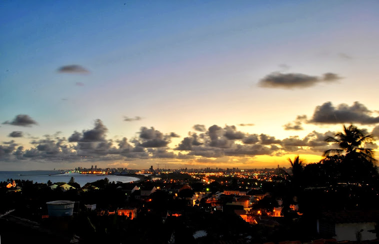 Por do Sol no Recife