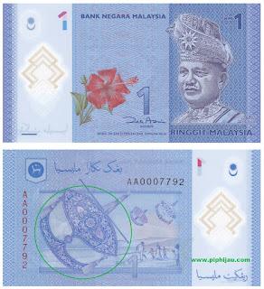 Misteri Gambaran Note Kertas RM (Ringgit Malaysia)