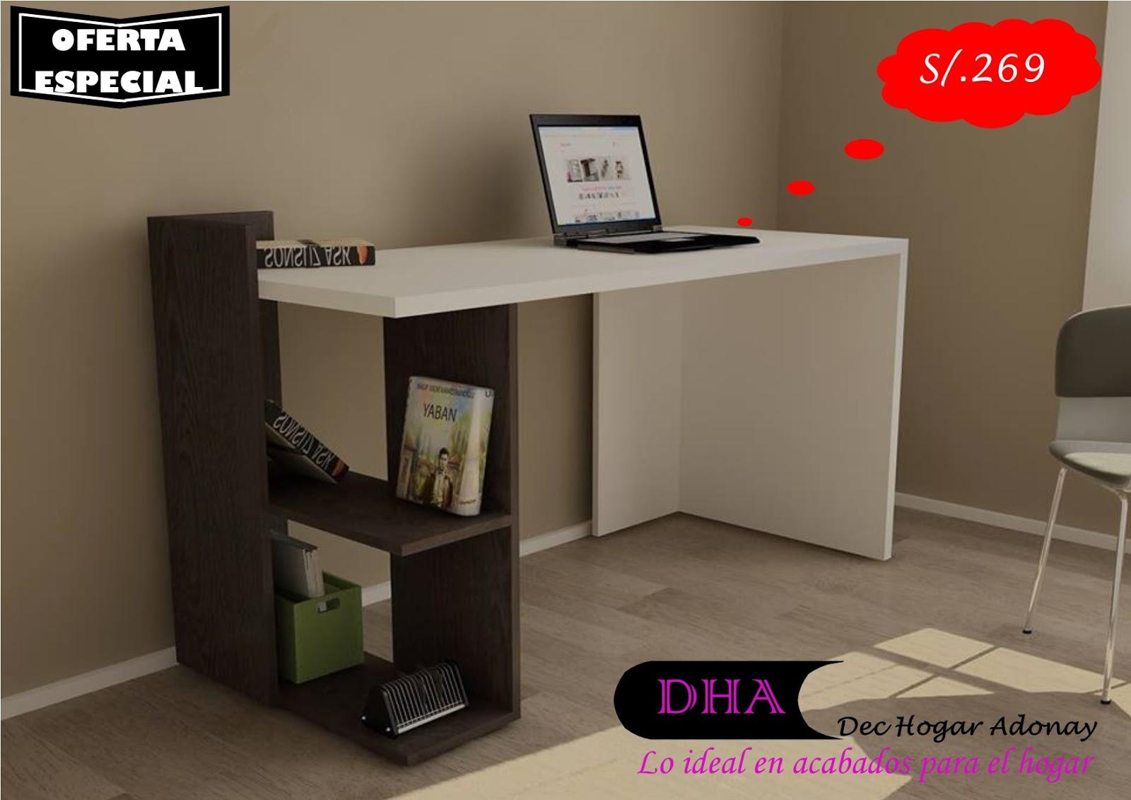 Muebles de melamine y madera en general escritorio for Muebles escritorios modernos