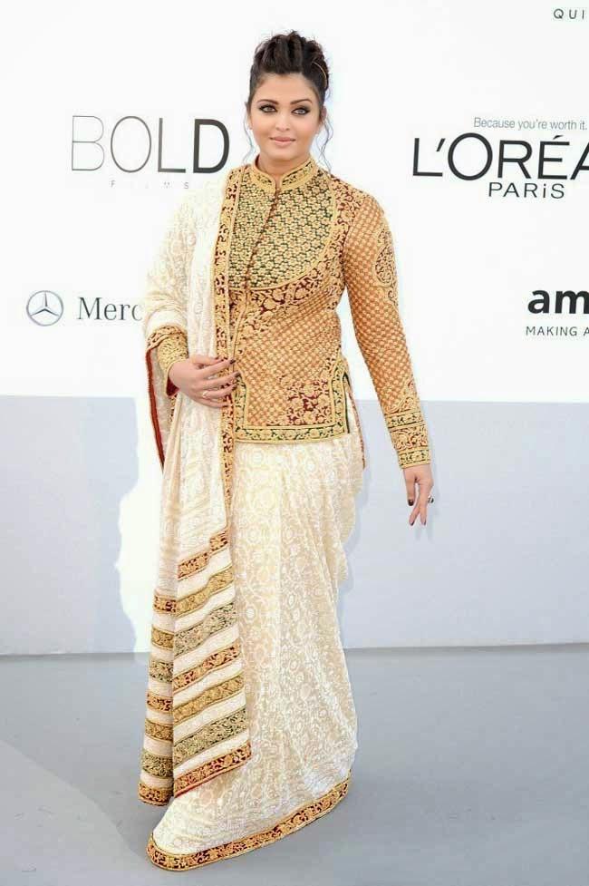Aishwarya Rai at 65th edition of Cannes film festival in 2012