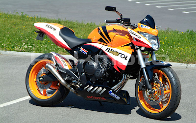 Foto Honda CBR 600 Tuning Repsol