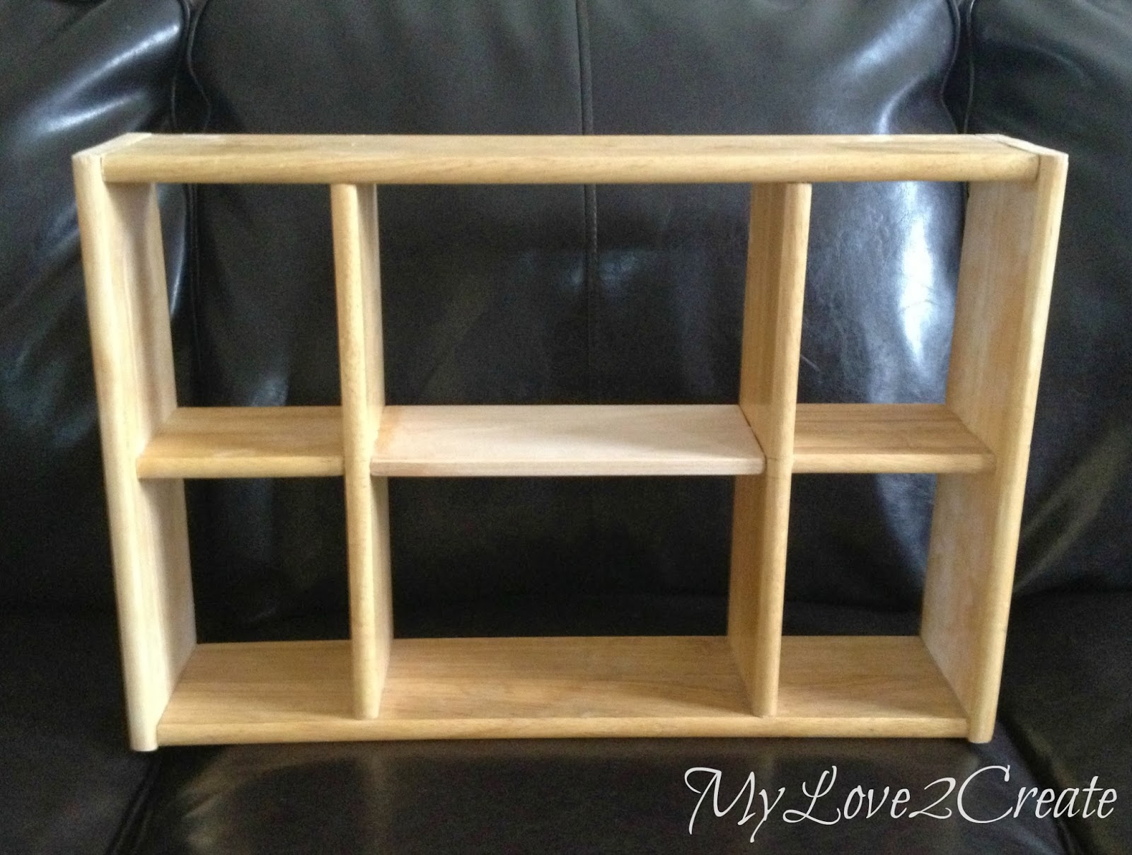 shelf with new divider