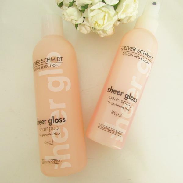 Oliver Schmidt Sheer Gloss Shampoo & Care Spray  Review, Testbericht, Erfahrungen