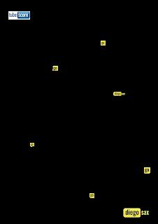 Gloria In Excelsis Deo Partitura del Villancico en Clave de Fa para Trombón, Chelo, Corno Inglés, Fagot, Tuba Elicón, Bombardino, Trompa y otros instrumentos en Clave de Fa en 4º línea. Christmas Carol Gloria In Excelsis Deo Sheet Music in in key F Music Scores