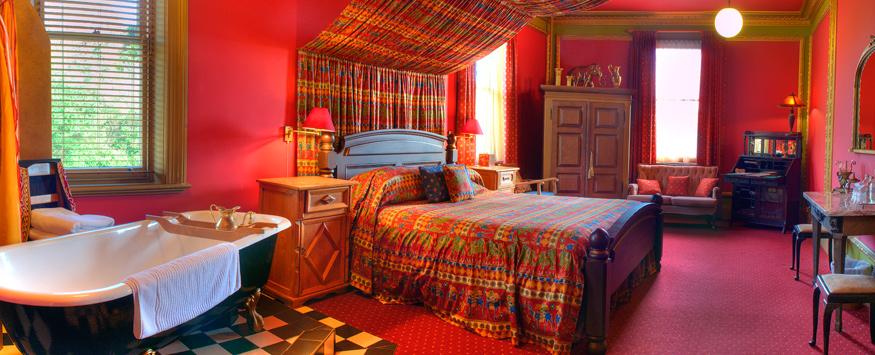 Caf com chai decora o indiana inspira es quarto for Bedroom color ideas india