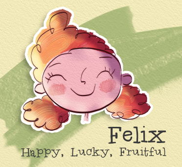 felix, happy, lucky, fruitful