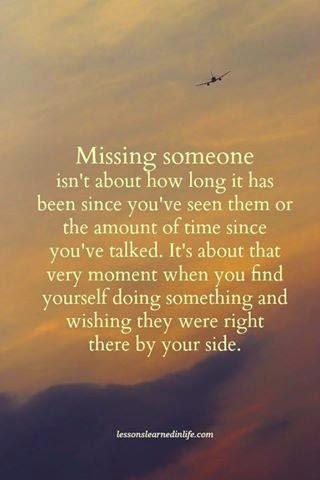 citat om at savne