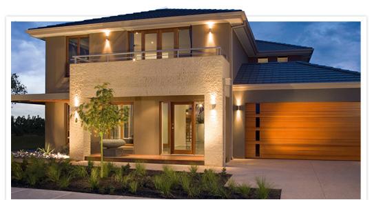 Small modern homes exterior views modern home designs for Small contemporary home plans