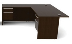 VL-619N Verde Corner Desk with Pedestals