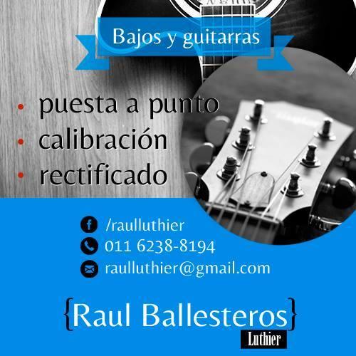 Raúl - Luthier