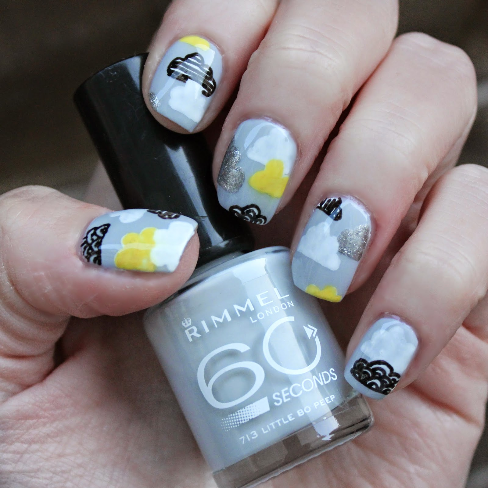 Dahlia Nails: Lonely As A Cloud