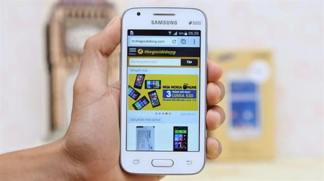 Harga dan Spesifikasi Samsung Galaxy V Terbaru